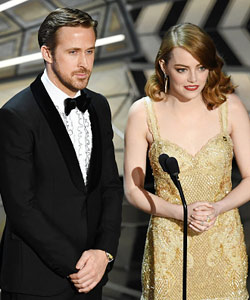 Und das war bei den Oscars so los …