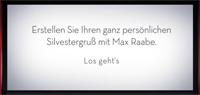 Max Raabe: Mit Dir Möchte Ich Immer Silvester Feiern