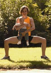 Fit mit dem Baby