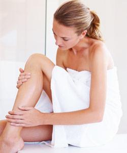 Tipps für seidig glatte Beine