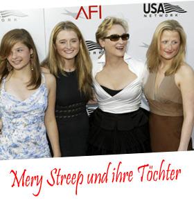 Meryl Streeps Töchter modeln für H&M