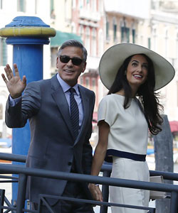 George und Amal Clooney Adoption
