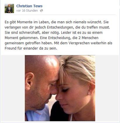 Trennung Bachelor Christian und Katja