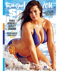 "Ashley Graham auf dem ""Sports Illustrated""-Cover"