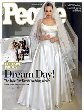 Angelina Jolie und Brad Pitt haben geheiratet!