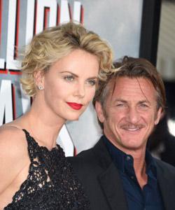 Sean Penn und Charlize Theron Hochzeit