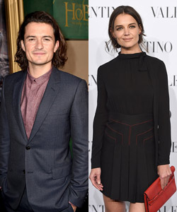 Orlando Bloom datet Katie Holmes