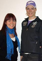 Maria Riesch im Interview