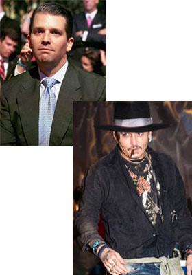 Donald Trumps Sohn droht Johnny