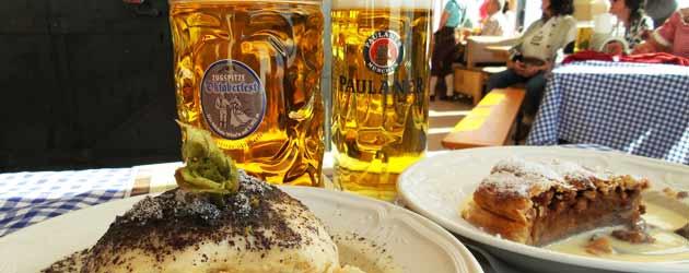 Zugspitze-Oktoberfest 2016: Von der Zugspitze ins Alpine Wellnesshotel Post