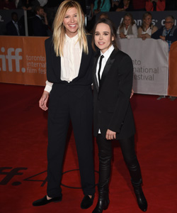 Ellen Page Samantha Thomas Freundin Outing