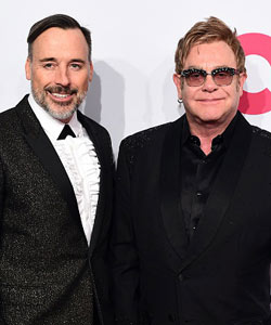Elton John heiratet David Furnish