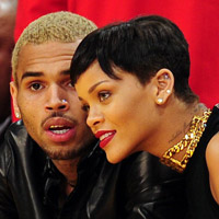 Rihanna: Weihnachten mit Chris Brown