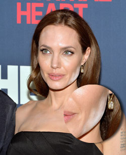 Angelina Jolie Make-Up-Panne
