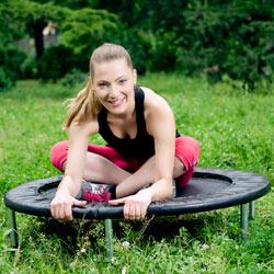 Fitnesstrend Trampolin – Springen Sie sich gesund
