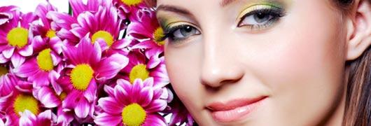Frühlings-Make-Up