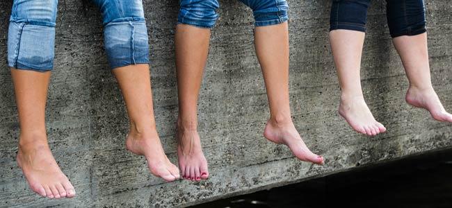 Geschwollene Beine: Lymphödem Ursache Symptome Behandlung