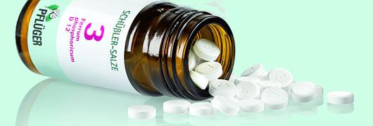 Selbstmedikation mit Schüßler-Salzen