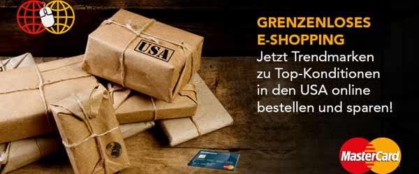 E-Shopping mit Mastercard
