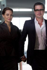 Angelina Jolie und Brad Pitt Hochzeit