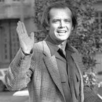 Jack Nicholson feiert Jubiläum