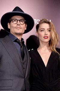 Johnny Depp und Amber Heard verlobt