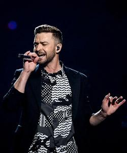 Justin Timberlake sorgt für Stimmung beim ESC!
