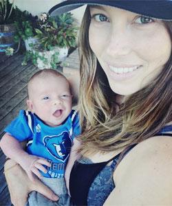Justin Timberlake Baby Silas erstes Foto