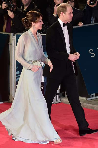 Kate Middleton Spectre Premiere