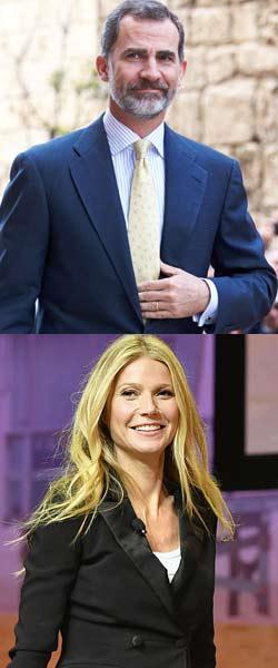 König Felipe: Affäre mit Gwyneth Paltrow