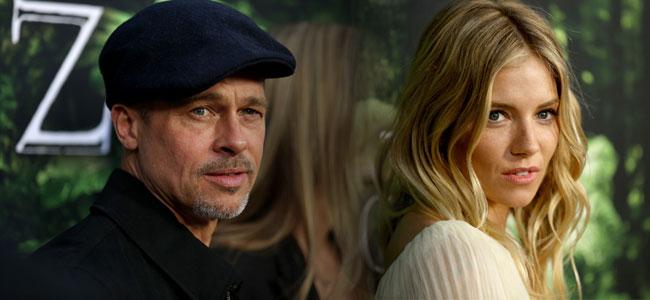 Brad Pitt: Romantisches Dinner mit Sienna Miller