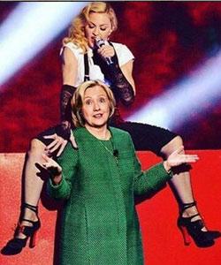 Madonna: Oralsex für Clinton-Wähler