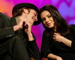 Mila Kunis: Erster Kuss von Ashton Kutcher