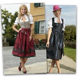 Mit traditioneller Mode durch den Winter