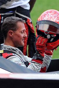 Michael Schumacher Lungenentzündung