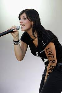 Stefanie Kloß bei The Voice