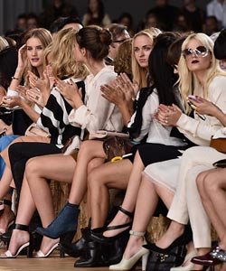 Stars bei der Fashion Week 2014