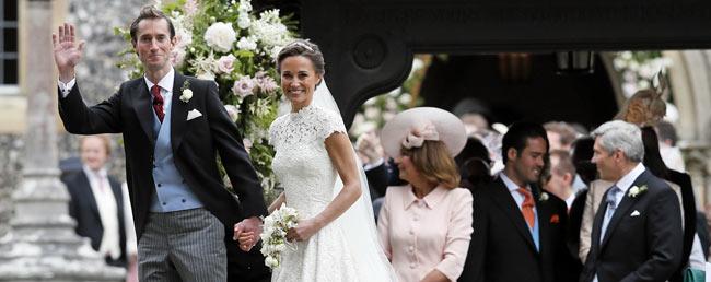 Bilder: Das war die Hochzeit von Pippa Middleton