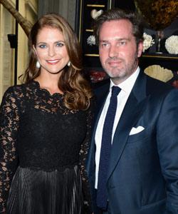 Prinzessin Madeleine von Schweden schwanger!