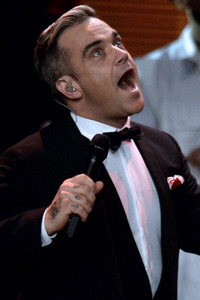 Robbie Williams zweites Kind