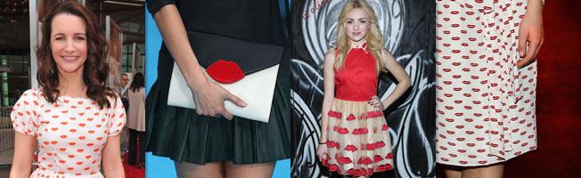 Modetrend Herbst 2014: Lippen Print - Lipstick Fashion
