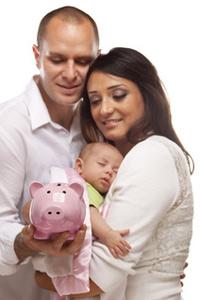 Sparen fürs Baby