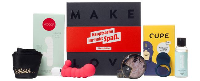 """Sextoy des Monats: MediaMarkt """"Hauptsache ihr habt Spaß""""-Box"""