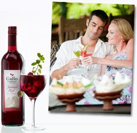 Cocktail-Rezepte mit Weinen von Gallo Family Vineyards