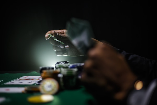 Styling für einen Casino-Abend