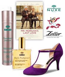 Gewinnen Sie Tanzschuhe und Kosmetik von Nuxe