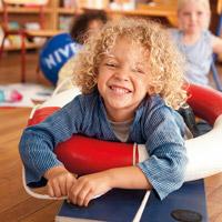 Sonnenschutzaufklärung durch die DLRG/NIVEA Kindergartentage in Deutschland