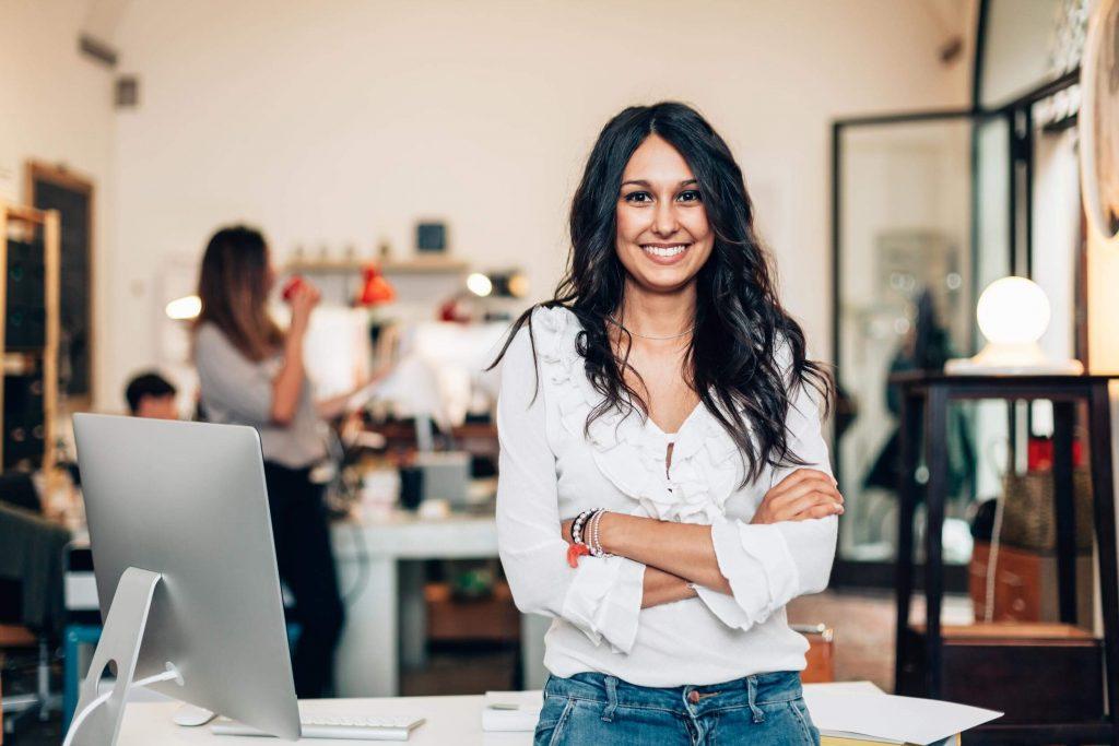 Businesswomen von heute starten online durch