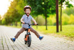 Motorische Entwicklung mit dem Laufrad